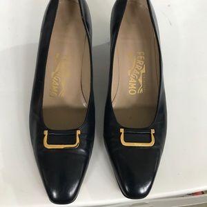Salvatore Ferragamo Slides On Shoes